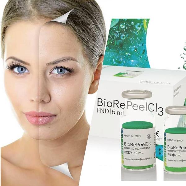 Zabieg biostymulacji skóry, rozjaśniający przebarwienia - Biorepeel