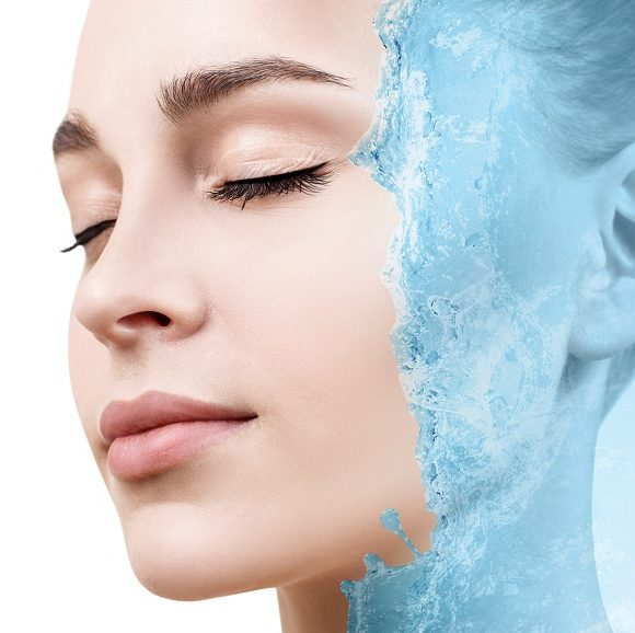 Efekty po zabiegu nawilżającym skórę